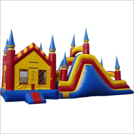 Funhouse Inflatable Castle Bouncer