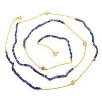 Iolite Beads Necklace