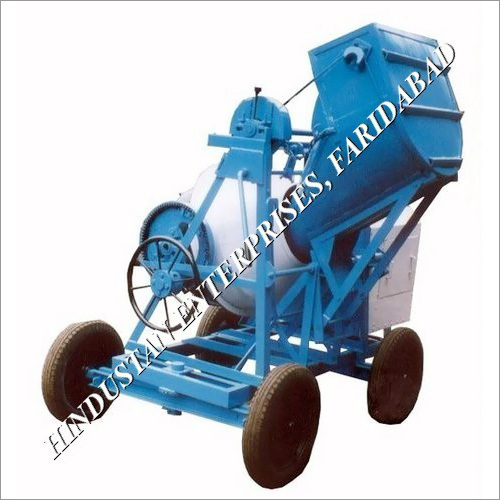 Concrete Mixer Jack Operated Hopper