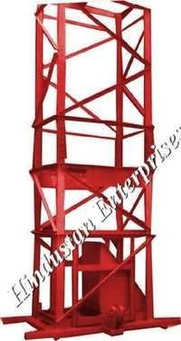 Builder 4 Leg Tower Hoist Machine