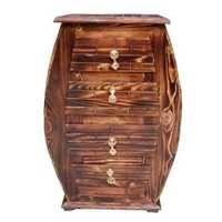 Desi Karigar Wooden Hand Carved Cabinet With Beautifully Design