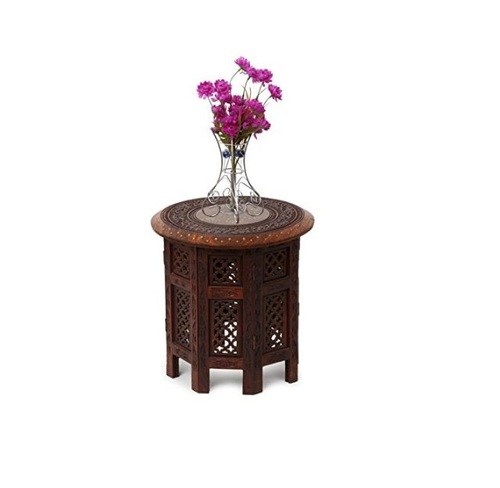 Desi Karigar Wooden Foldable Table