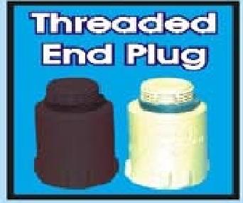 Threaded end plug