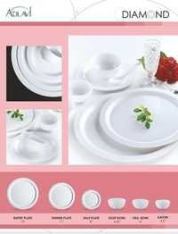 Melamine Crockery Plate