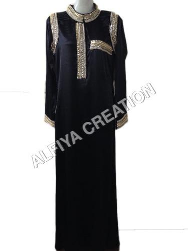 Bollywood Designer Party Wear Satin Long Dress