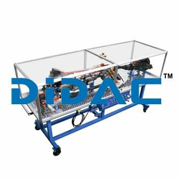 Cutaway 4x4 Drive Train Automatic Transmission