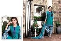 Shop Embroidered With Printed Patiyala Suits Online