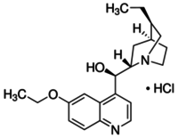 Ethylhydrocupreine hydrochloride