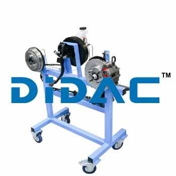 Two Wheel Hydraulic Brake Trainer