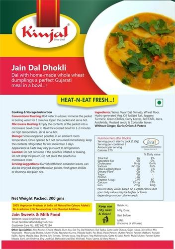 Jain Dal Dhokli