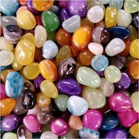 Indian manufacturer of Mix onyx pebbles stone for home decoration