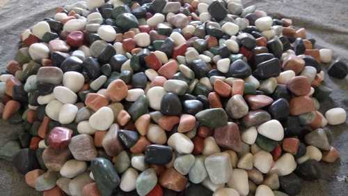 Mix Color Big Size Natural Polished Pebbles Stone