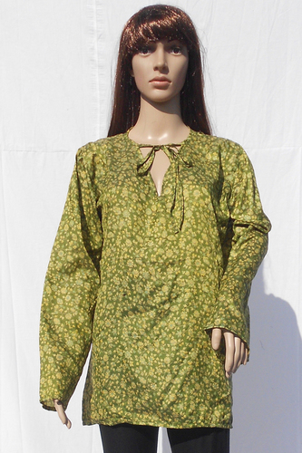 Silk Beachwear Tops