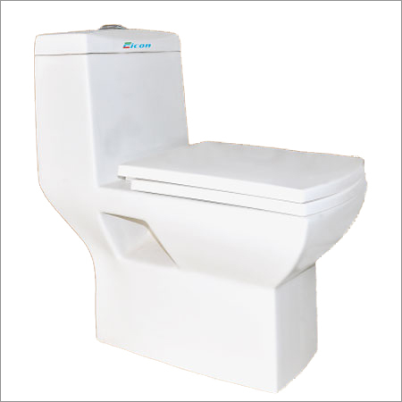 One Piece European Water Closet