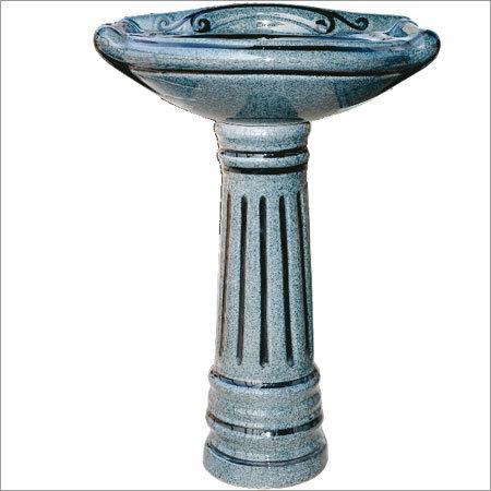 Designer Royal Vitrosa Set Pedestal Wash Basin
