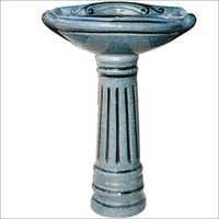 Designer Royal Vitrosa Set Pedestal Wash Basin