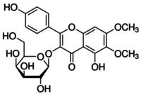 Eupalitin 3-Oβ-D-galactopyranoside