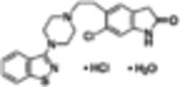 Ziprasidone hydrochloride monohydrate