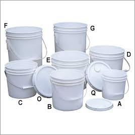 Lubricant Plastic Buckets