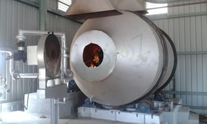 Oil Fired Rotary Furnace