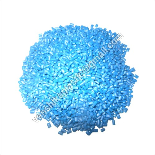 Recycled Blue Drum Plastic Granules