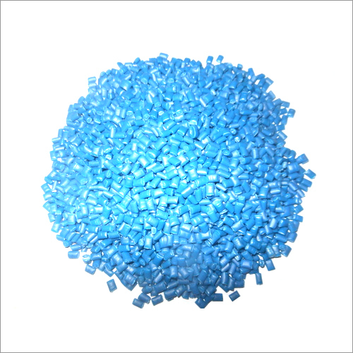 Recycled Blue PE 100 HDPE Plastic Granules
