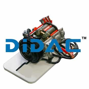Cutaway Variable Displacement Air Conditioner Compressor GM