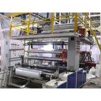 3 Layer Co Extrusion Plastic Blown Film Machine
