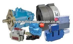 Construction hydraulic pump repair