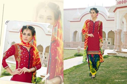 Shop Printed patiala Suit Online