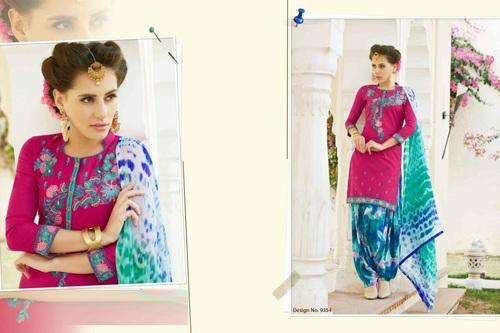 Buy Printed Patiyala Suit Online