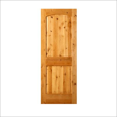 Teak Brown Panel Doors