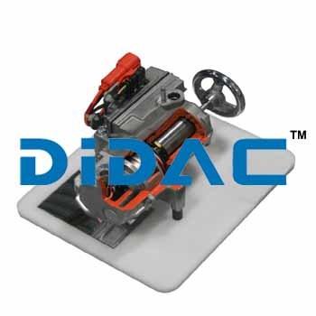Cutaway Hybrid Scroll Type AC Compressor