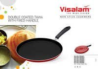 NON STICK TAWA FIXED HANDLE (DOUBLE LAYER COATING)
