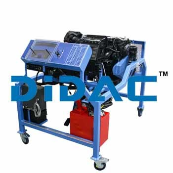 Custom Gasoline Direct Injection Engine Bench