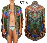 Digital Printed Fancy Ladies Kaftan