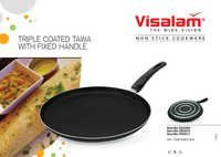 Non-Stick Tawa Fixed Handle (Three Layer Coating)
