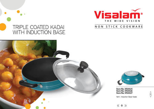 INDUCTION KADAI (THREE LAYER COATING)