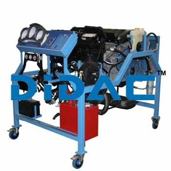 Custom Gasoline Engine Bench Trainer