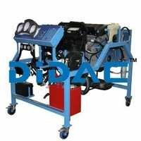 Custom Gasoline Engine Bench Trainer