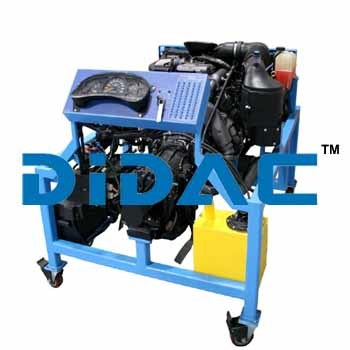 Custom Light Diesel Engine Bench