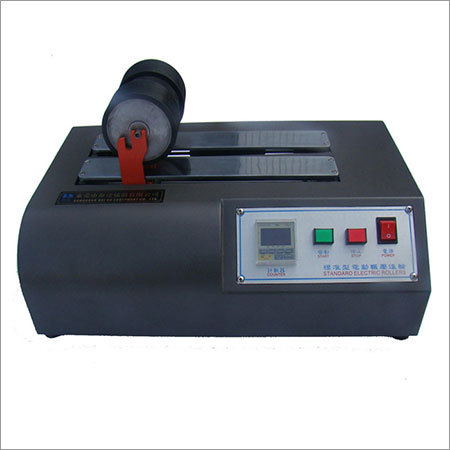 Electric Two Rolling Tape Adhesion Machine