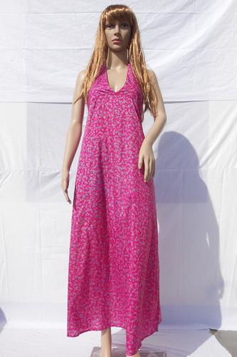Silk Beachwear Casual Long Dresses