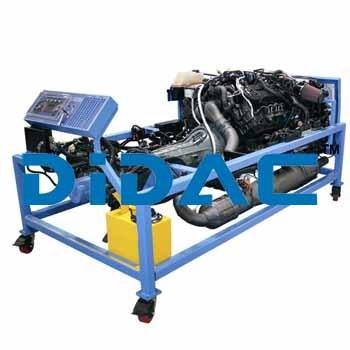Newer Ford Power Stroke Diesel Engine Bench