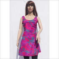 Silk Beachwear Casual Dresses