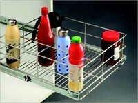Designer Bottle Rack Basket