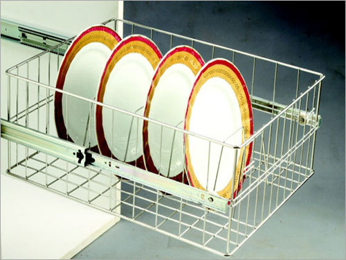 Ss Right Angle Thali Basket