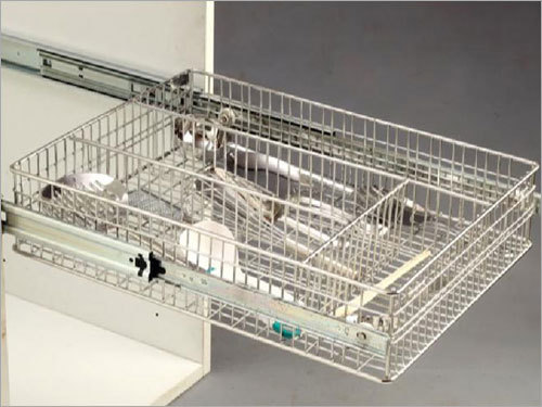 Ss Right Angle Cutlery Basket