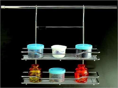 Ss Utility Rack (Double Tier)