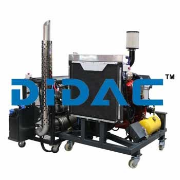 Diesel Engine Bench Cummins Isb6.7 Epa 2013 Recycled